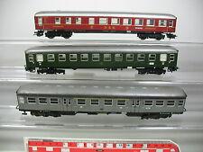 AP251-1# 3x Märklin H0/AC Bastler-Blech-Wagen: 36 201 DSG+31003 DB+182035