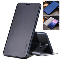 X-Level Ultra Thin Luxury Leather Flip Wallet Case Stand Cover For Huawei Models