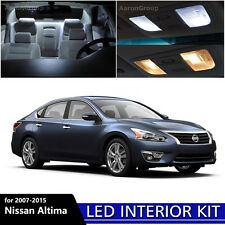 12PCS White Interior LED Light Package Kit for 2007-2015 Nissan Altima