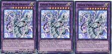 Cyber-Twin Dragon  SDCR 1st X 3 Mint Cyber Dragon Revolution