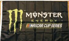 Monster Energy Flag 3x5 NASCAR Cup Series  Logo Banner Racing