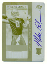 2013 PANINI CONTENDERS MIKE GLENNON RC PRINTING PLATE AUTO AUTOGRAPH BEARS #1/1