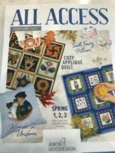 Anita Goodesign ALL ACCESS VIP Club FEBRUARY 2021 Embroidery Design CD & BOOK -