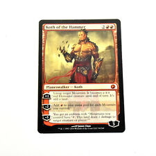 MTG KOTH OF THE HAMMER Scars of Mirrodin (LP) English Mythic Normal