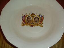 Lovely Vintage  Commemorative Dish coronation King George V1 & Queen Elizabeth