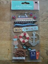 EK Success Jolee's Boutique Bon Voyage dimensionales Pegatinas BNIP