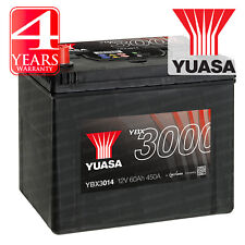 Yuasa Car Battery Calcium Black Case 12V 450CCA 60Ah T1 For Hummer H3 3.7