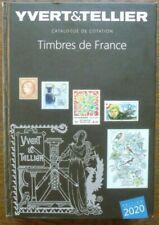 Catalogue Yvert et Tellier FRANCE EDITION  2020.