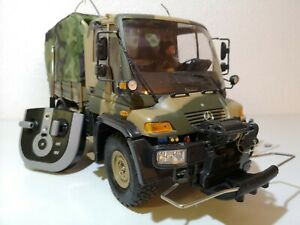 Dickie Rc Unimog Mercedes U300 Hunter 4WD Bundeswehr 1:12 z.B. für Crawler Umbau