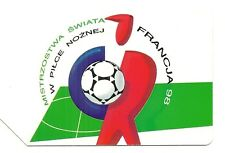 RARE / CARTE TELEPHONIQUE - FOOTBALL FRANCE 98 COUPE DU MONDE / PHONECARD
