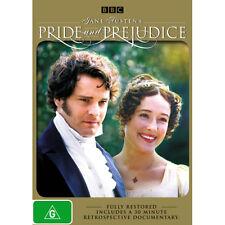 PRIDE AND PREJUDICE Remastered  : NEW BBC DVD : Colin Firth