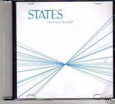 (134M) States, Travelling at Speed EP - DJ CD