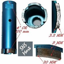 "1 5/8"" 42 mm PRO Diamond Core Bit Hole Saw Stone Faucet"