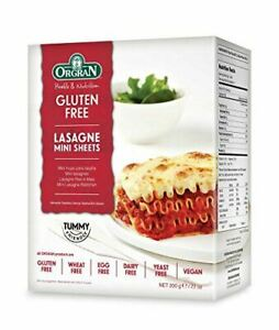 Orgran Free From Rice and Corn Pasta Mini Lasagne 200 g (Pack of 4)