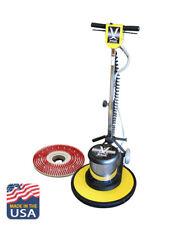 "Multi-Function Floor Adjustable Buffer 17"" Kit Machine Scrubber Burnisher"