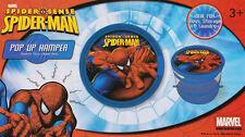 Spider-man Pop Up Hamper Toy Bin Storage Laundry Hamper Spiderman Spider Man New