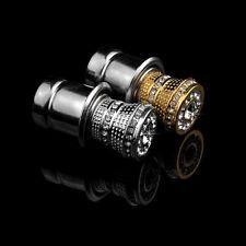 Crystal Bling Rhinestone Auto Car Iron Cigarette Socket Lighter Ignition Safe