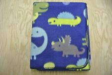 Dinosaurs Eggs Baby Blanket Toddler Can Be Personalized 28x44