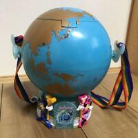 Disney Sea 10th Anniversary Aqua Sphere Globe Popcorn Bucket Popcorn Case Japan
