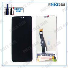 ECRAN LCD + VITRE TACTILE pour HUAWEI HONOR 8X NOIR + outils + colle B7000