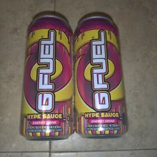 RARE 2 Gfuel Hype Sauce Cans 16oz G Fuel Energy Formula Can