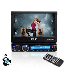 Pyle In-Dash Single-Din 7-inch Motorized Wireless Bluetooth Streaming Player