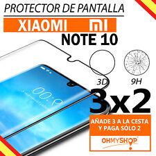 Protector Pantalla Xiaomi Mi Note 10 Cristal Templado Completo 3D Dureza 9H