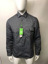 "Hugo Boss Green Label Overshirt ""Baisy"" Size L Grey"