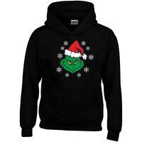 Grinch Christmas Hoodie Movie Humbug Birthday Xmas Jumper Sweatshirt Gift Top