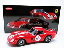 Kyosho Ferrari 250 GTO Nurburgring 1963 #46 High End 1/18 Scale. New Release!