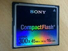Speicherkarte Sony CF CompactFlash UDMA 16GB 300x *gebraucht*