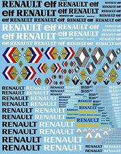 Renault Eleven Sponsor Sheet - 1:3 2 Decal