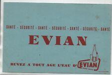 Buvard - Buvez à tout âge l'eau d'EVIAN - TBE - réf. 78/21