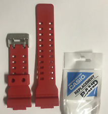 Casio Original G-shock  Band GDF-100-4 GDF-100  Red Strap     GDF100