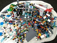 Lego Large Bundle/Job Lot with Mini Figures and Instructions