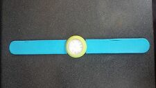 Fun snap bracelet green blue quartz watch