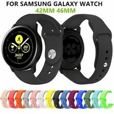 20/22mm Silicone Bracelet Strap Watch Band For Samsung Gear S3 42/46mm