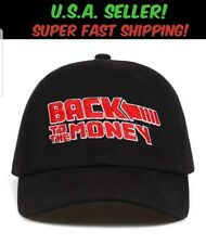Back To The Money Hat Back to the Future Parody Adjustable Baseball Cap