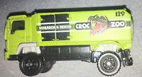 MATCHBOX MB712 DESERT THUNDER V16 Croc Zoo Green Truck DIE CAST 1/64 SCALE 2006