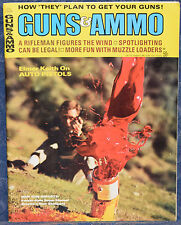 Vintage Magazine GUNS & AMMO July 1969 !!! PARKER-HALE Super MAUSER RIFLE !!!