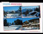 CRANS MONTANA (SUISSE) CHALETS & HOTELS en hiver en 1999