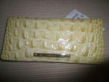 "Brahmin Ady ""Lemonade Melbourne"" Leather Checkbook Wallet NWT"