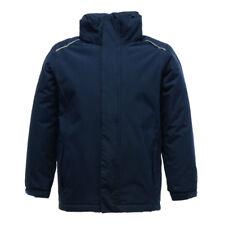 Regatta Rg251 Junior Classic School Jacket Kids Waterproof Polyester Hoodie Suit Navy 9-10