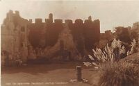 BR68225 the courtyard  manorbier castle wales judges 10123  real photo