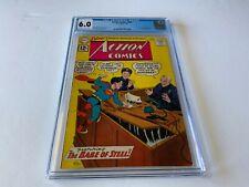 ACTION COMICS 284 CGC 6.0 MON-EL KRYPTO SUPERGIRL IN ATLANTIS DC COMICS 1962