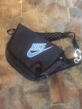 New!! Nike Ultra Rare Single Strap Messenger Sling Backpack W/Personal Padlock!!