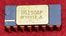 Siliconix DG190AP Dual SPDT Analog Switch IC, NOS Full Temp Mil