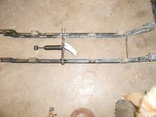 1978 John DEERE 340 SPITFIRE: rear susp parts: BOTH RAILS w CROSSBARS