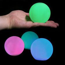 Floating Mood Lights 8cm LED Ball Orb x 6 for Pool Spa Pond + Remote