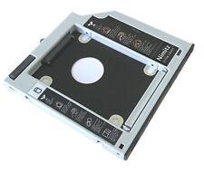 2nd HDD SSD Festplatte  Caddy für Dell M4600 M4700 M4800 M6400 M6500 M6600 M6700